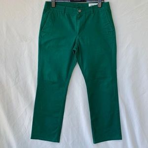 Bonobos Straight Fit Flat Front Washed Chinos. 34